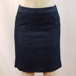 Express Design Studio Stretch Denim Skirt